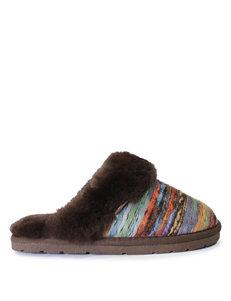 LAMO Footwear Brown Slipper Boots & Booties