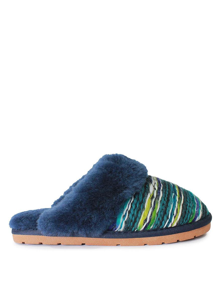 LAMO Footwear Blue / Green