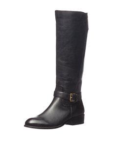 Ralph Lauren Black Riding Boots