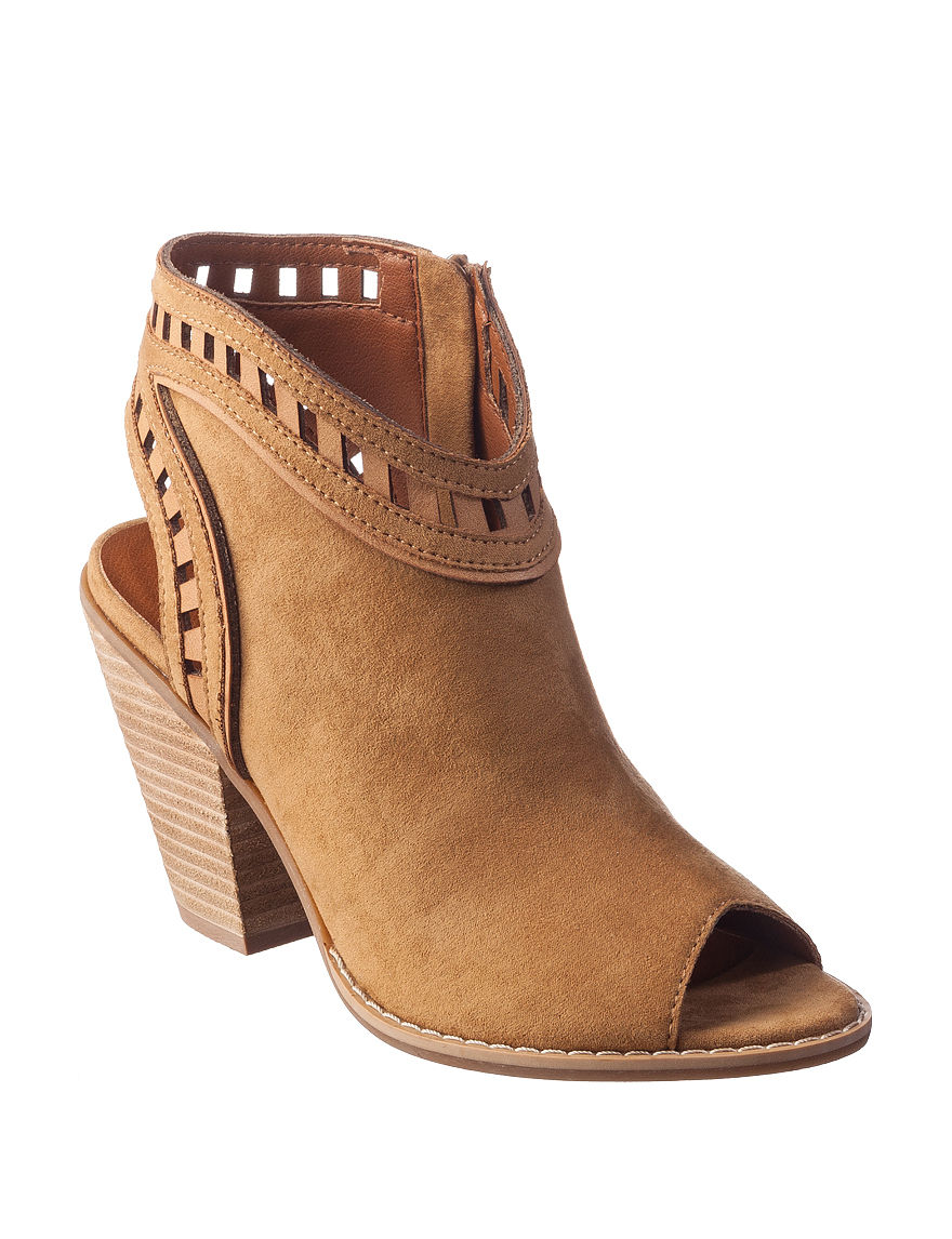 Dolce by Mojo Moxy Camel Ankle Boots & Booties