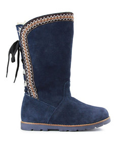LAMO Footwear Navy Winter Boots