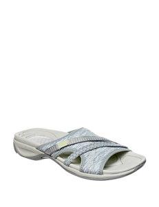 Dr. Scholl's Grey Slide Sandals