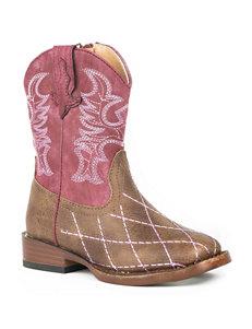 Roper Cross Cut Boots - Toddler Girls 5-8