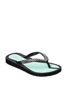 Capelli Mint Flip Flops