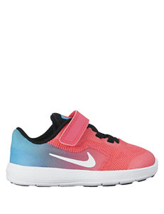 Nike Revolution 3 Athletic Shoes- Toddler Girls 5-10