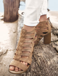 Indigo Rd. Latte Heeled Sandals