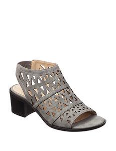 Seven Dials Grey Heeled Sandals