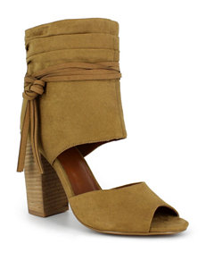 Dolce by Mojo Moxy Camel Slipper Boots & Booties