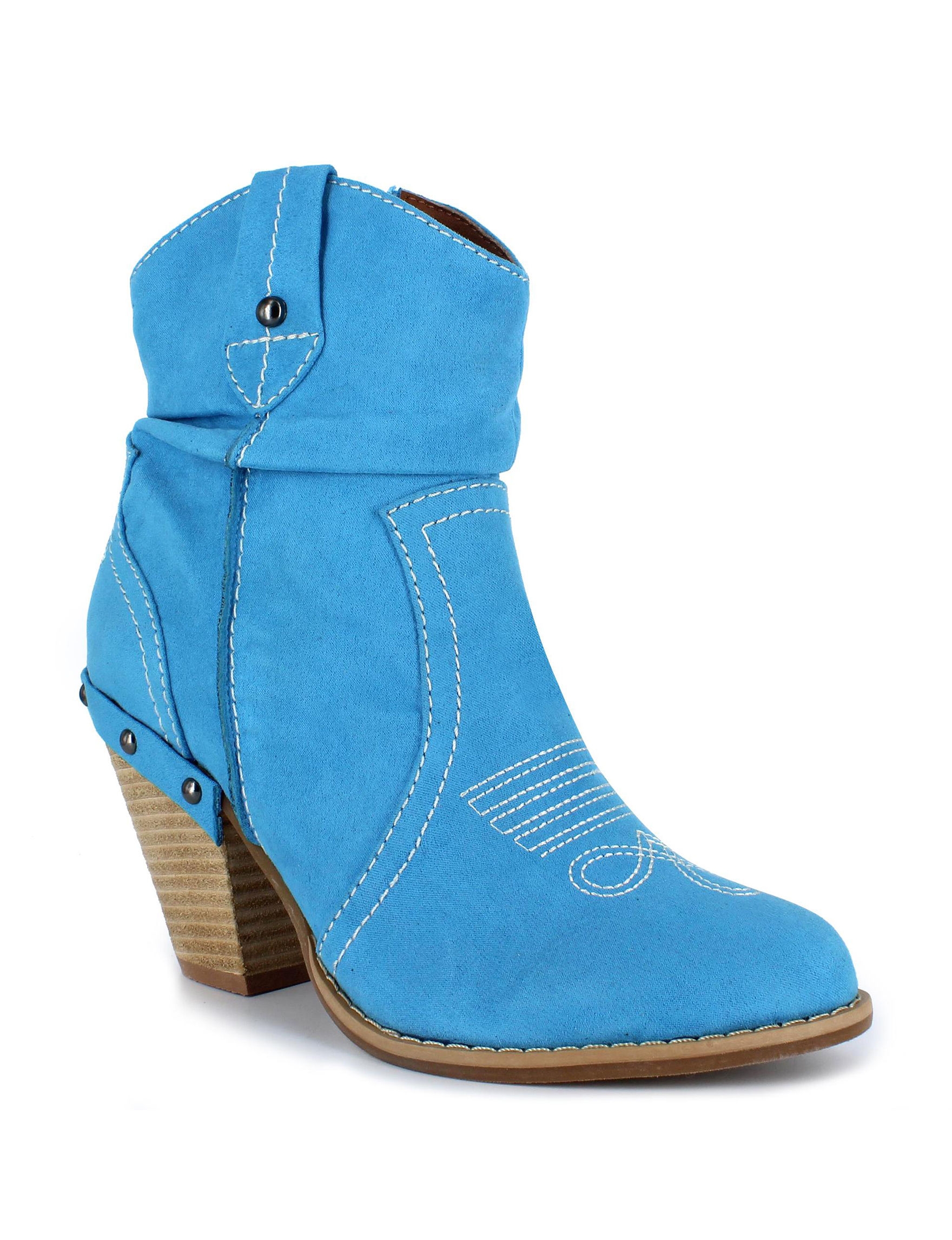 Dolce by Mojo Moxy Denim Ankle Boots & Booties