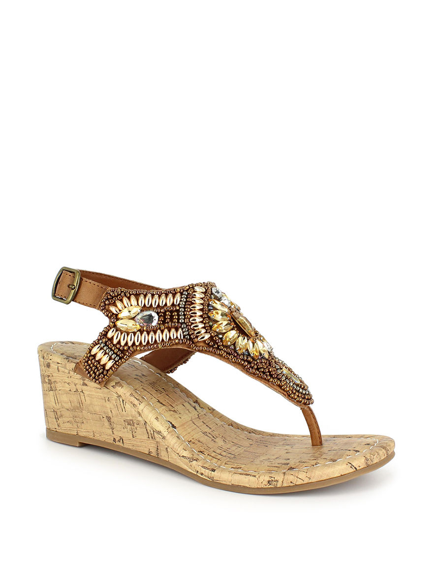 Dolce by Mojo Moxy Brown Wedge Sandals