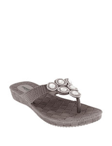 Capelli  Flat Sandals Flip Flops Wedge Sandals