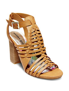 Madden Girl Tan Heeled Sandals