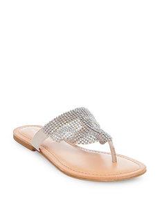 Madden Girl Blush Flat Sandals Flip Flops