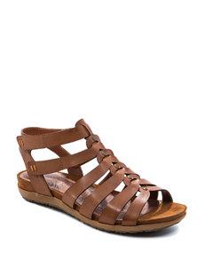 Bare Traps Brown Gladiators Comfort