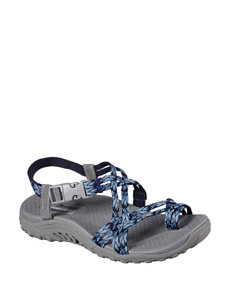 Skechers Dark Grey Sport Sandals