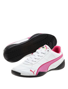 Puma Tune Cat 3 Glitter Athletic Shoes- Girls 4-6