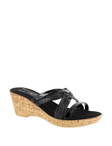 Easy Street  Wedge Sandals