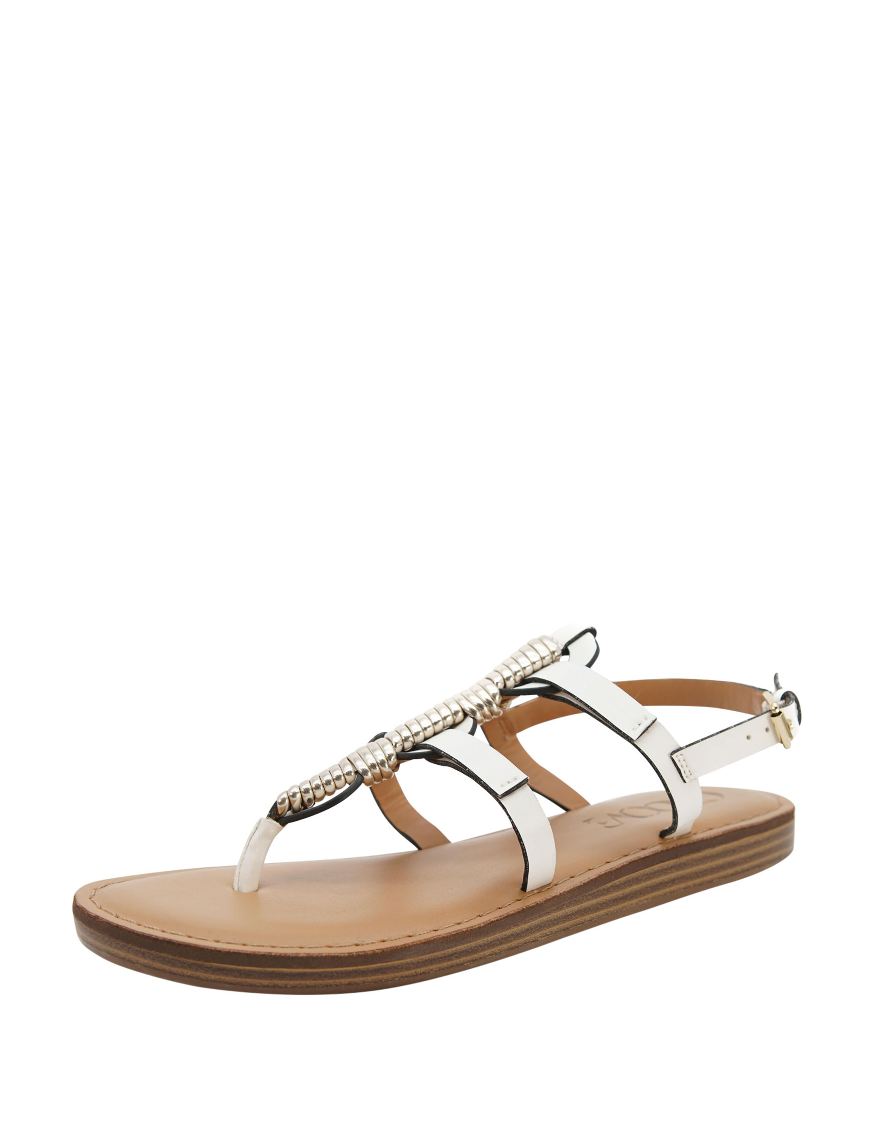 Groove Footwear white/gold Espadrille