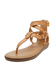 Groove Footwear Natural Flat Sandals