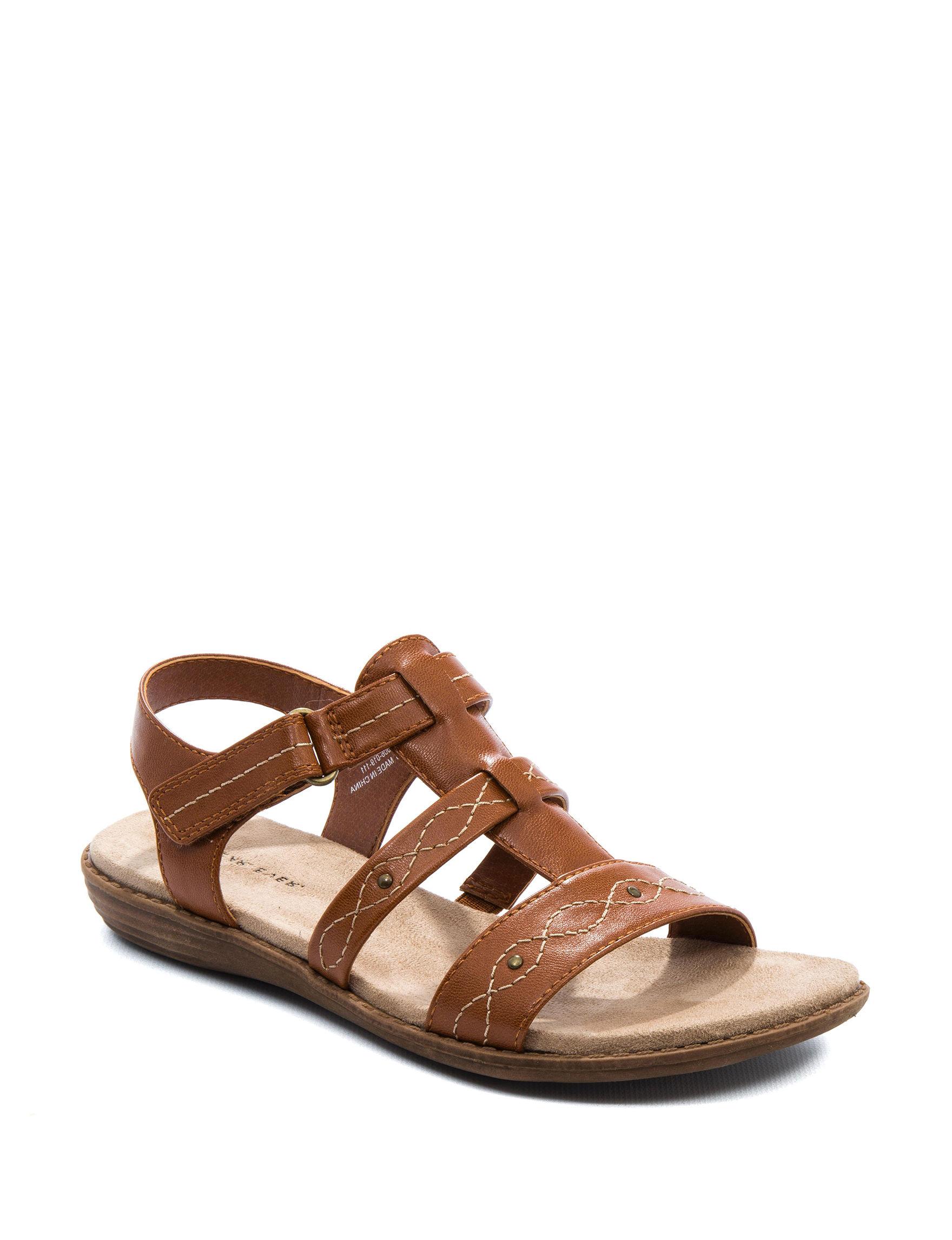 Wear. Ever. Brown Flat Sandals Comfort
