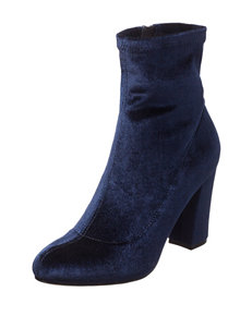Madden Girl Navy Ankle Boots & Booties