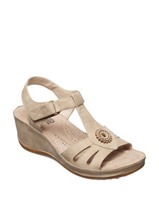 Cliffs  Wedge Sandals