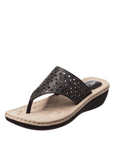 Cliffs Black Flip Flops