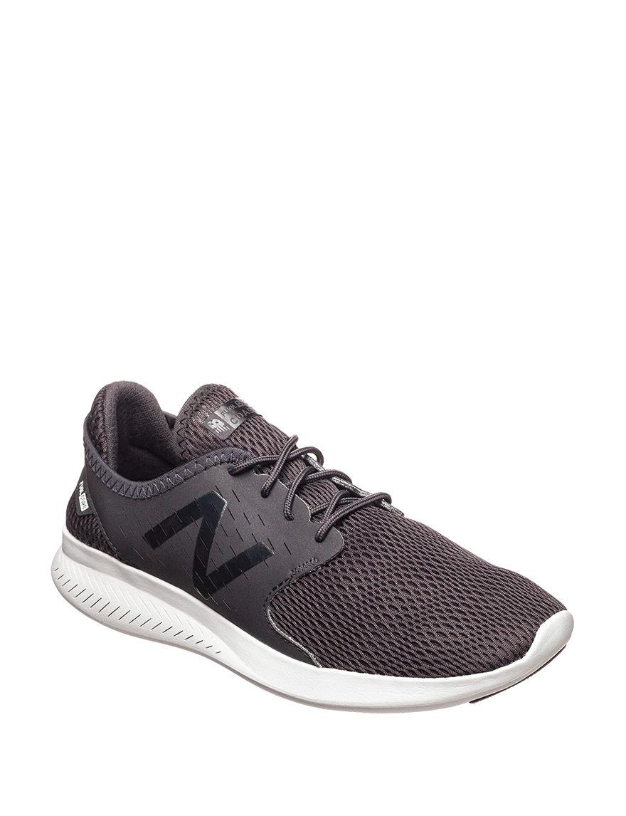 New Balance Black / White