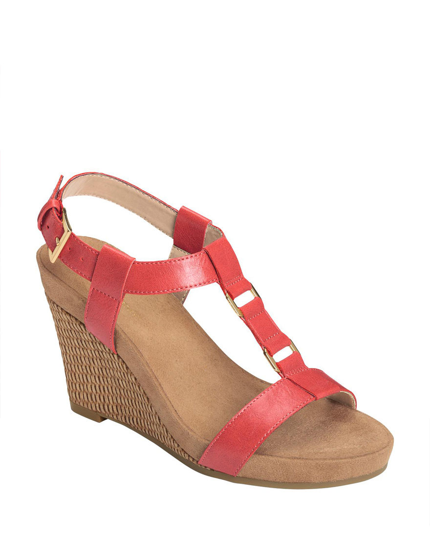 A2 by Aerosoles Coral Wedge Sandals Comfort