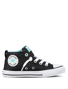 Converse CTAS Street Mid Top Shoes- Girls 11-3