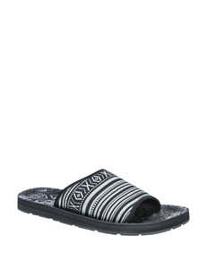 Muk Luks Hendrix Slide Sandals