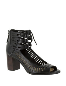 Bella Vita Black Heeled Sandals