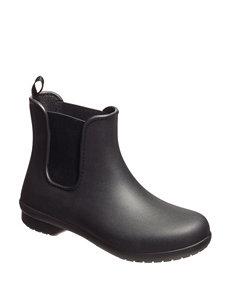 Crocs Black Rain Boots