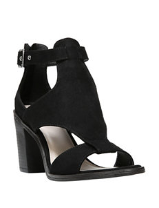 Fergalicious by Fergie Black Heeled Sandals