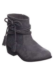 Rampage Charcoal Ankle Boots & Booties