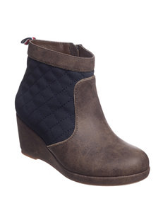 Tommy Hilfiger Brown Ankle Boots & Booties