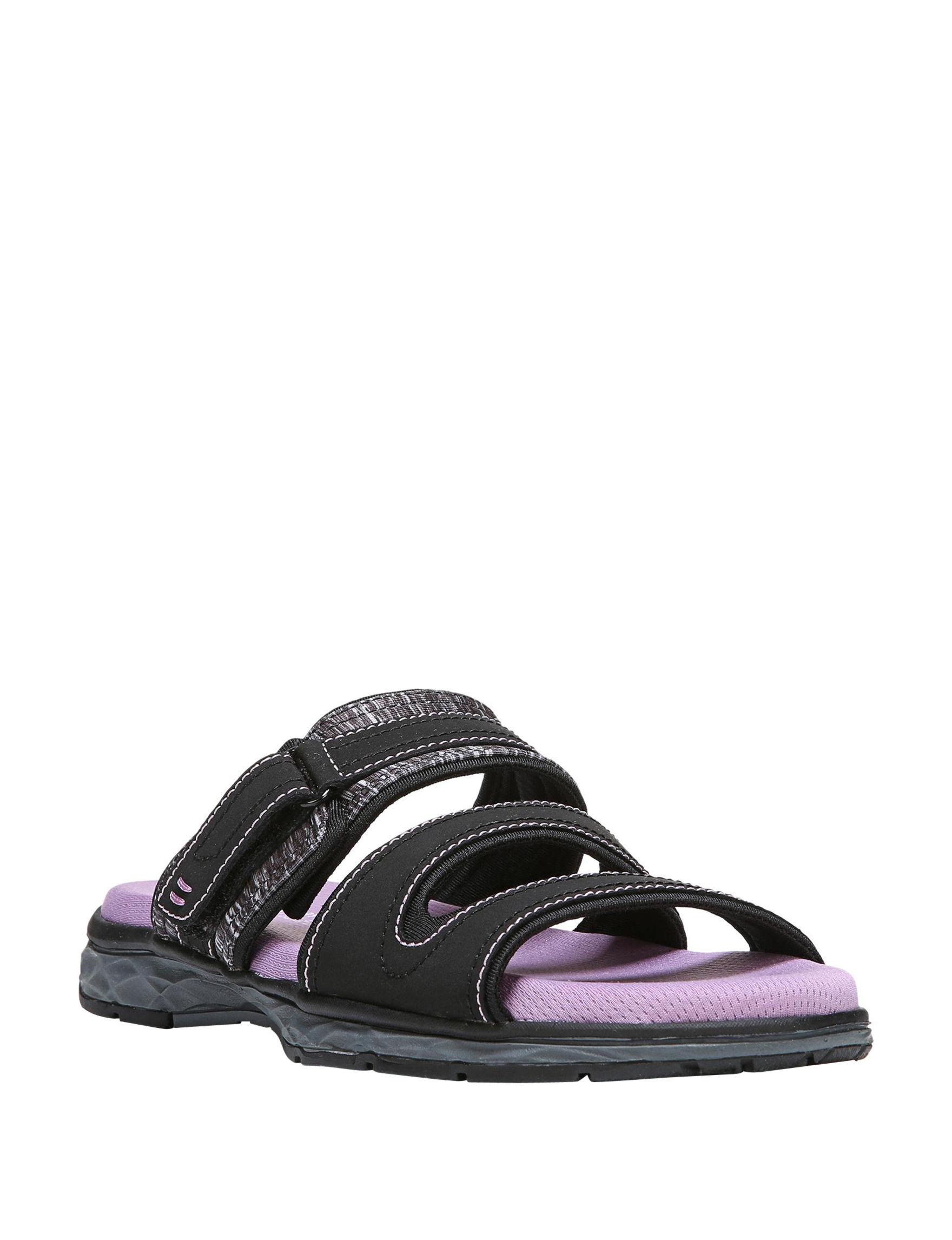 Dr. Scholl's Black Sport Sandals