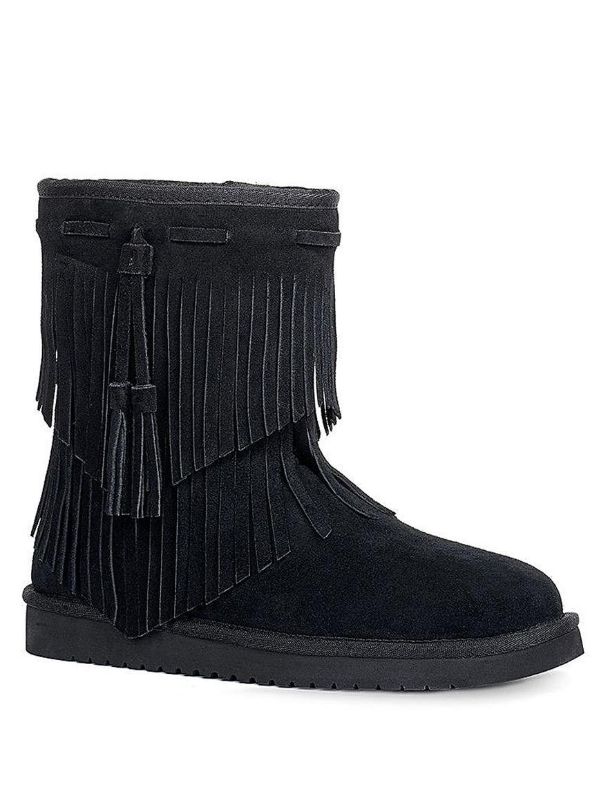 Koolaburra Black Winter Boots