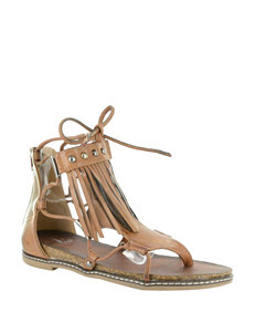 Corkys Camel Flat Sandals Gladiators