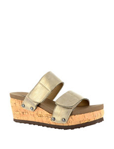 Corkys Two-Way Wedge Sandals