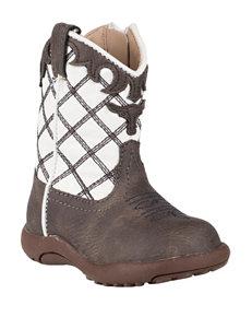 Roper Steerhead Crib Boots - Baby 1-4