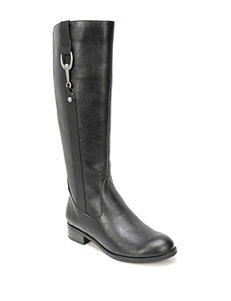 Life Stride Black Riding Boots
