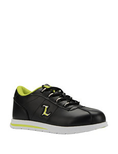 Lugz Black / Lime Sport Sandals MLB