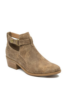 Bare Traps Taupe Ankle Boots & Booties