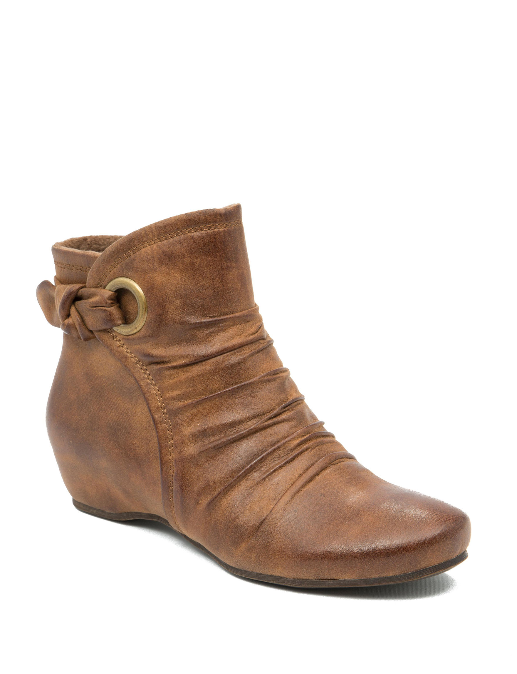 Bare Traps Medium Brown Ankle Boots & Booties Wedge Boots