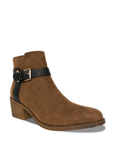 Groove Footwear Brown Ankle Boots & Booties