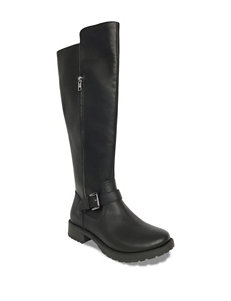 Groove Footwear Black Riding Boots