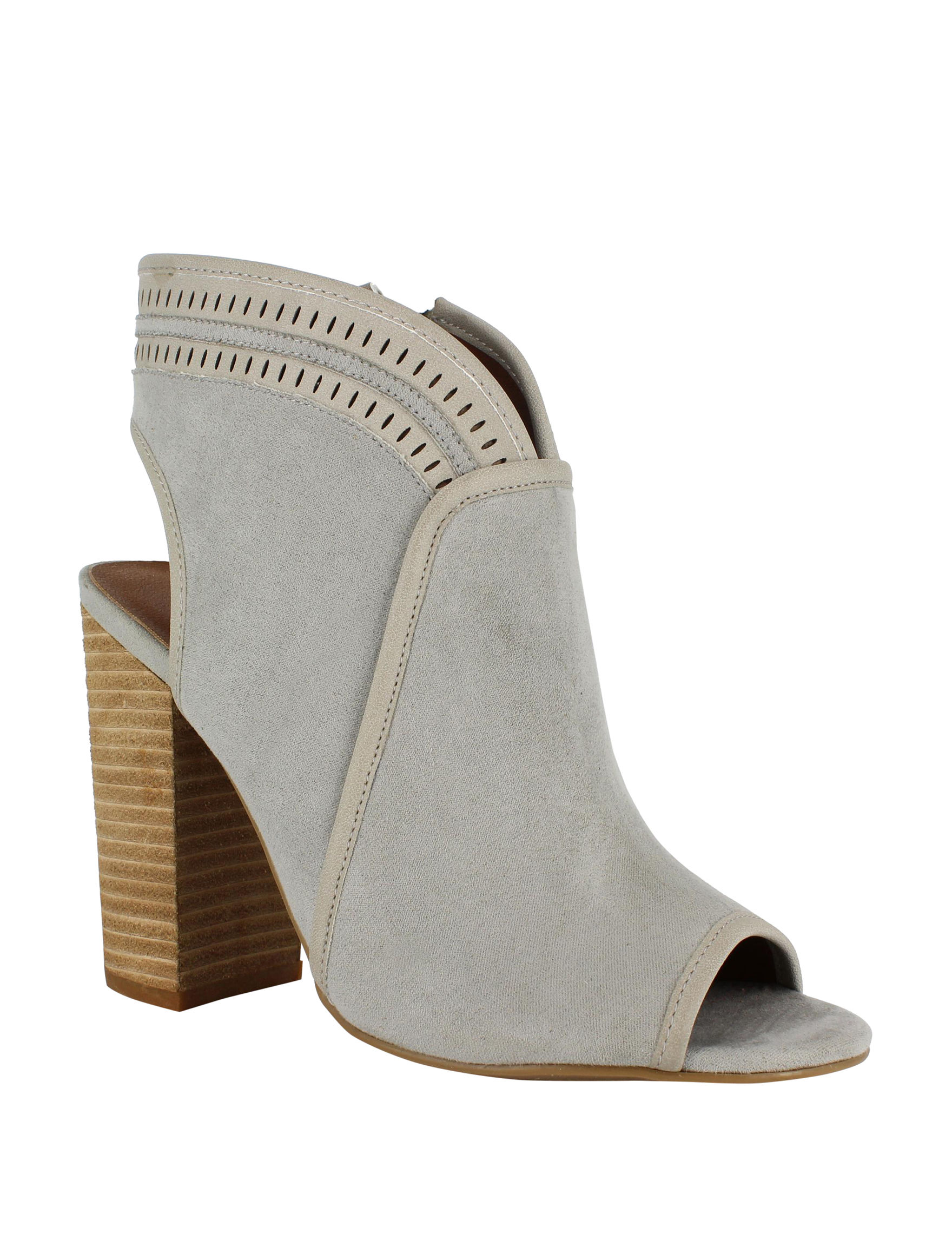 Dolce by Mojo Moxy Grey Ankle Boots & Booties