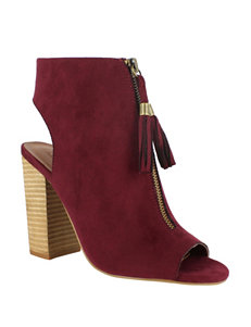 Dolce by Mojo Moxy Burgundy Ankle Boots & Booties