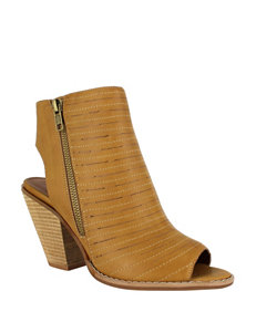 Dolce by Mojo Moxy Camel Ankle Boots & Booties Heeled Sandals
